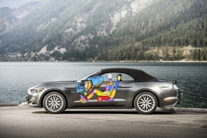Ford Mustang debutta l'innovativo air-bag