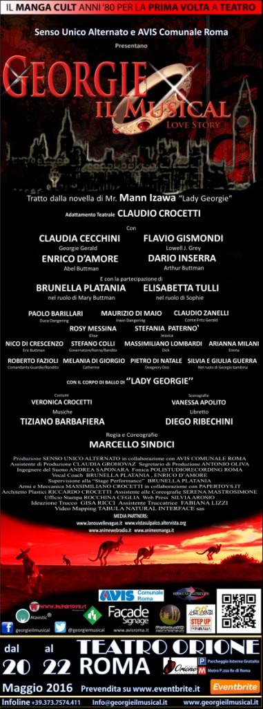 Teatro musical orione roma manga georgie il