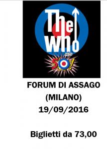 Concerto Who a Milano