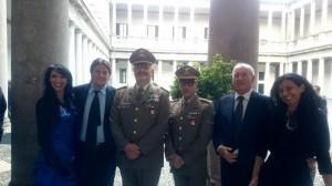 Ester Campese  Giuseppe Colombo Rapp  Corpo Stato Maggiore Riccardo Bramante Adriana Conconi Fedrigolli