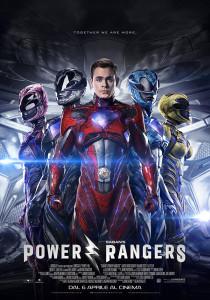 locandina power rangers