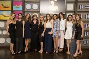 Il Direttore Marisa Demichei e le 10 lettrici