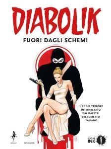 copertina DIABOLIK FUORI DAGLI SCHEMI - disegno di Milo Manara