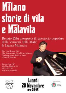 Locandina Renato Dibì Out Off Milano, storie di Vita e Malavita