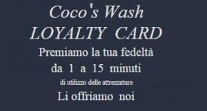 Loyalty Card Coco's Wash