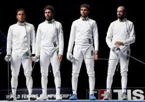 Italia spada maschile schierata