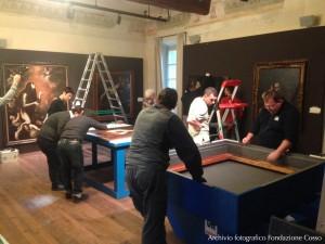 Allestimento Mostra Caravaggio e il suo tempo- foto3