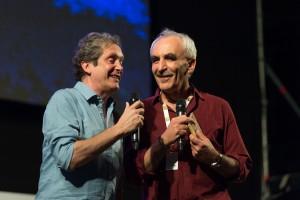 Foto Ernesto Assante e Gino Castaldo