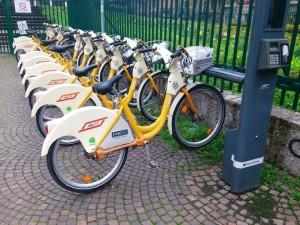 bike sharing regina margherita