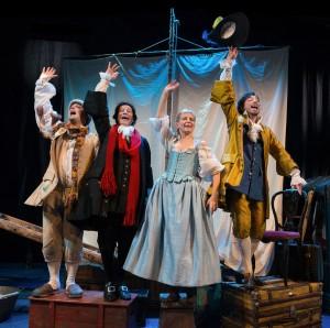 La barca dei comici teatro
