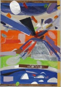 Nicola Sannolo 2004 (tecnica mista su cartoncino -6350 x 47 cm)