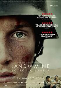 locandina Land of Mine - Sotto la sabbia