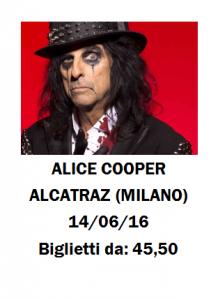 Concerto Alice Cooper Milano