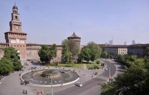 piazza castello milano
