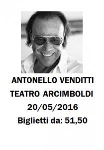 Concerto Antonello Venditti Milano