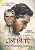 Locandina: l'uomo che vide l'ifinito