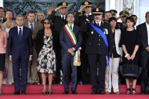 Milano, 4 ottobre 2016. 156° anniversario della fondazione del Corpo della Polizia locale.