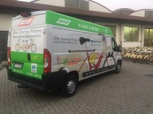 Furgone trasporto bikemi