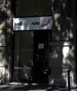 Showroom Lualdi, ex Teatro Olimpia
