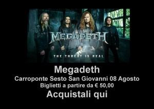 Concerto Megadeth