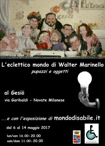 L'eclettico mondo di Walter Marinello