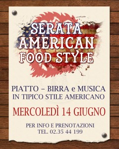 American Food Style