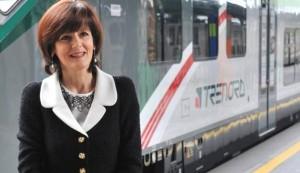 Cinzia Farisè, amministratore delegato Trenord