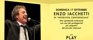 Enzo  Iachetti a Metropoli