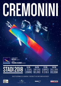 Cremonini- tour artwork
