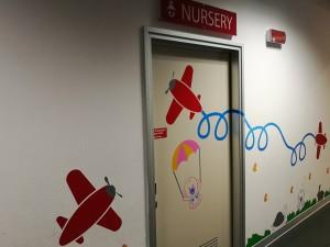 Nursery BGY Airport ingresso orizz