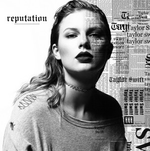 Taylor Swift - Reputation - Standard Cover - GRAYSCALE