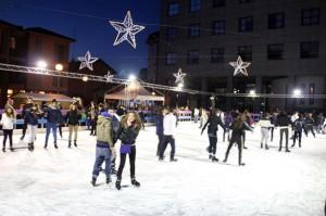pista pattinaggio ghiaccio bollate-