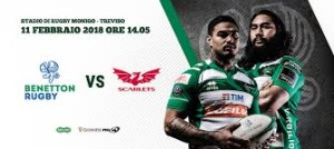 BENETTON RUGBY VS SCARLETS