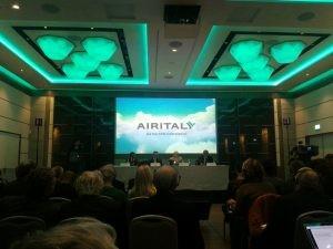 nuovo logo AirItaly/Meridiana