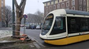 tram deragliato piazza caneva
