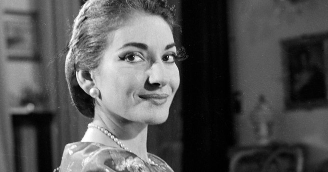 December 1958 Maria Callas on SMALL WORLD.  T16276_7Copyright CBS Broadcasting, Inc., All Rights Reserved, Credit: CBS Photo Archive