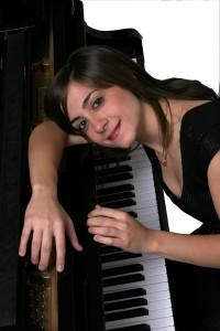 Clelia Cafiero al piano