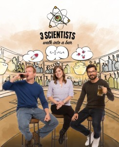 3 scienziati al bar