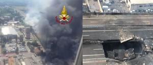 Esplosione Bologna - Borgo Panigale