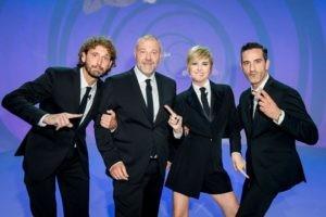 Filippo Roma, Giulio Golia, Nadia Toffa e Matteo Viviani