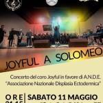 Joyful a Solomeo