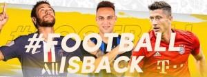 #FOOTBALLISBACK_la piattaforma TikTok