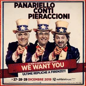 In foto: Panariello_Conti_Pieraccioni