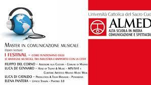 Corso del Master in Comunicazione musicale