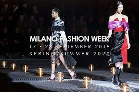 Fashion Week Milano Moda Donna