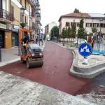 lavori di asfaltatura a Bollate