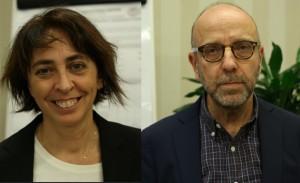 Paola Cinque e Andrea Antinori