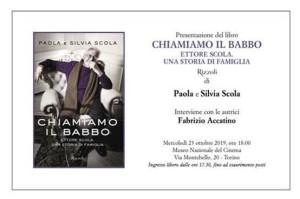 Presentazione del libro 'Chiamiamo il babbo. Ettore Scola. Una storia di famiglia'