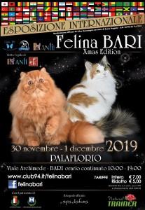 Esposizione Internazionale Felina Bari 2019