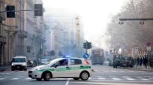 Blocco auto Milano